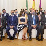 La nueva Junta de Gobierno momentos antes de la toma de posesión