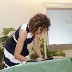 La presidenta firma la diligencia de toma de posesión del cargo