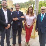 J. Cardador (GMU), J.M. Rosillo (ACP), M. Mandley (CAF) y J. Zayas (COPITI)